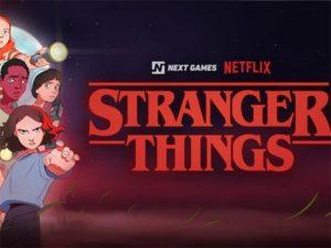 Netflix vydá Stranger Things na mobilu jako hru