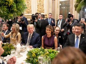 Trump a čínský prezident Xi Jinping