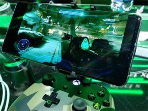 Halo na Galaxy S10 se stremovací službou xCloud
