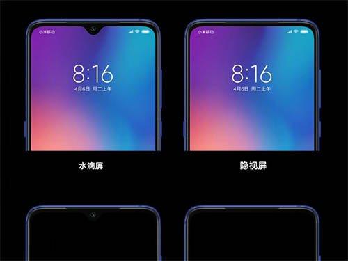 Xiaomi kamera pod displejem