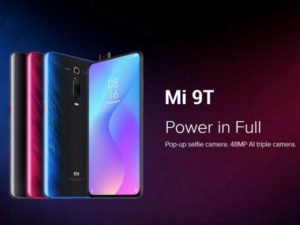 Xiaomi Mi 9T na rozbalovacím videu