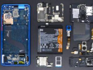 Rozebraný Xiaomi Mi 9T telefon