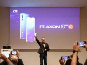 První ZTE 5G telefon dorazí v Číně v Červenci