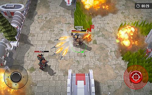 Hra Robots battle arena: Mech shooter