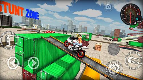 Extreme Bike simulátor hra na mobil
