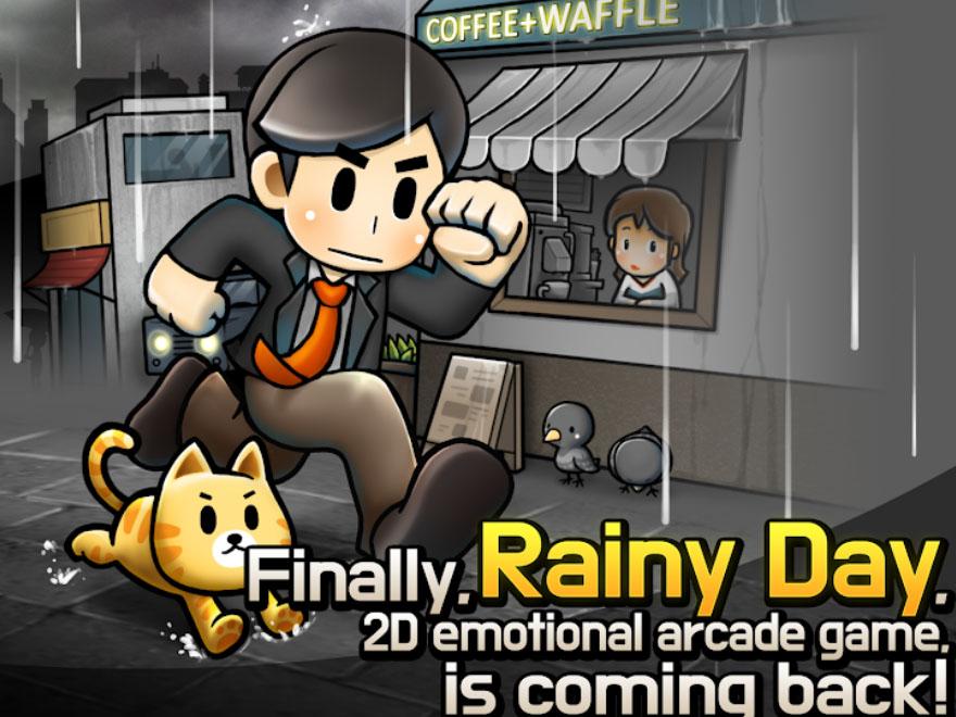 Arkádová hra Rainy Day - Remastered