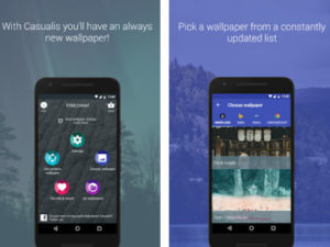 Aplikace Casualis: Auto wallpaper change