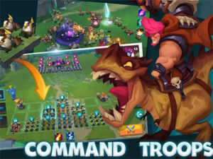 Strategická hra Brave Conquest