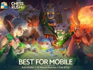 Android hra Chess Rush