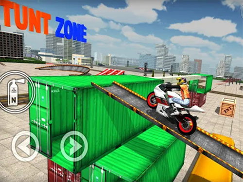 Android hra Extreme Bike Simulator
