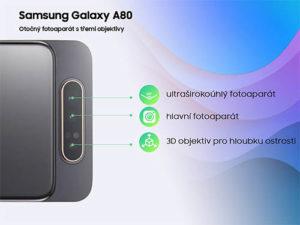 Samsung Galaxy A80 v ČR k dispozici