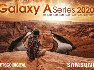 Samsung odhalil 9 modelů A série roku 2020