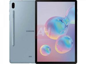 Novinářské rendery Galaxy Tab S6