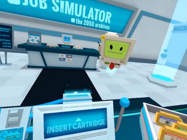 Hra Job simulator
