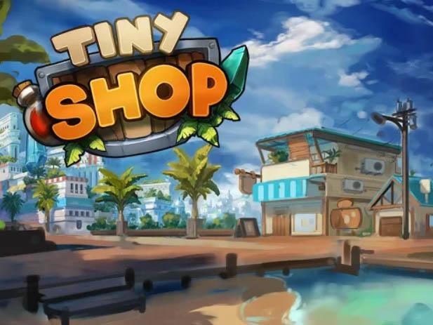 Hra Tiny Shop: Cute RPG