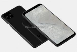 Rendery Google Pixel 4 XL