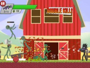 Hra Stickman zombie střelec
