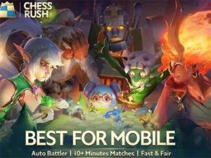 Android strategie online Chess Rush