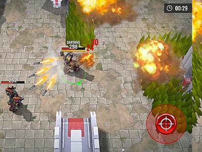 Strategická hra Robots Battle Arena