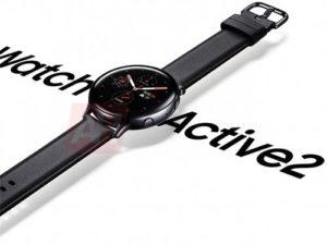 Samsung Galaxy Watch Active 2 na oficiálních promo fotografiích