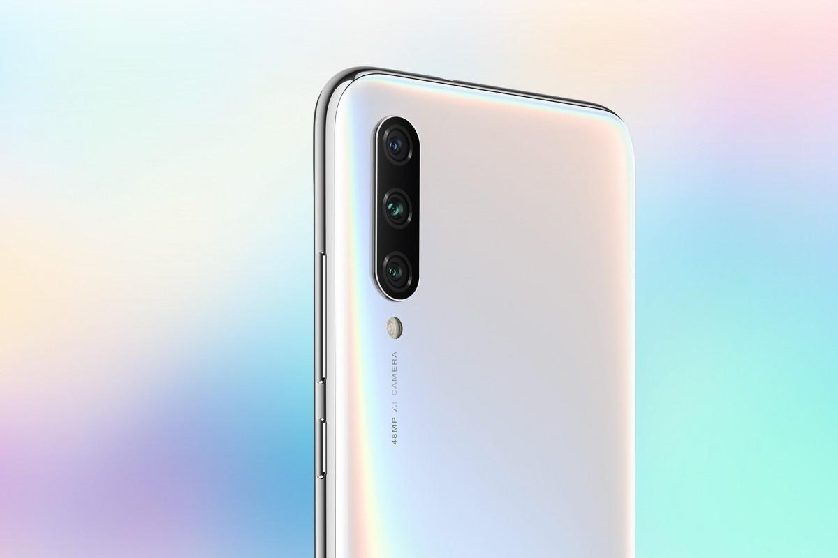 Xiaomi Mi A3 zadní kamera