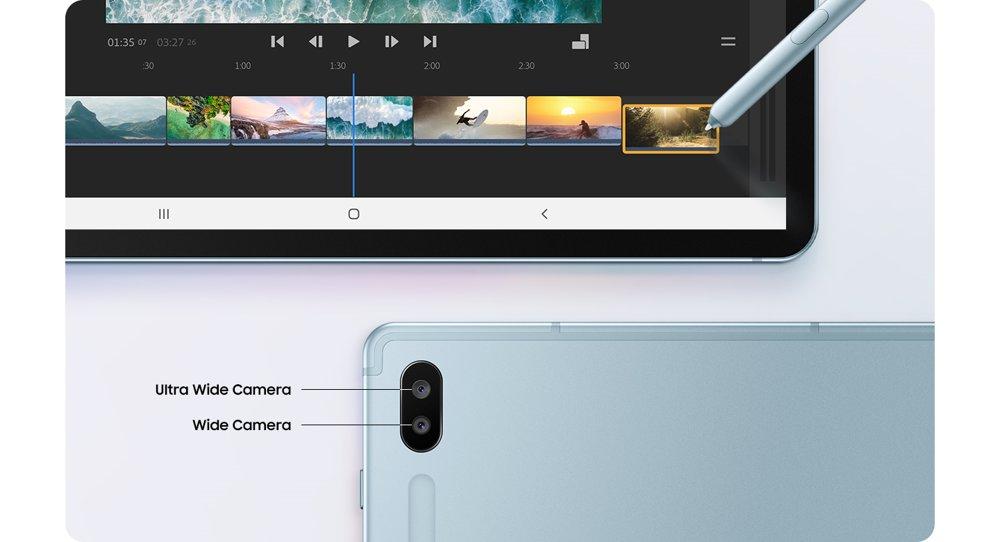 Galaxy Tab S6 fotoaparát