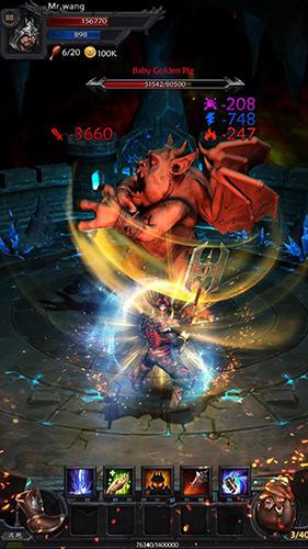 Hra Ever dungeons: Hunter king