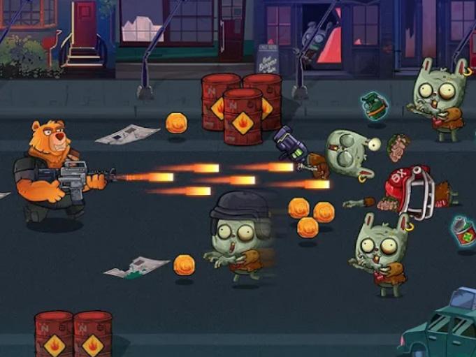 Hra Bear Gunner : Zombie Shooter