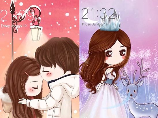 Tapety na mobil Cute Profile Wallpapers