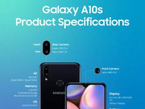Samsung představuje Galaxy A10s