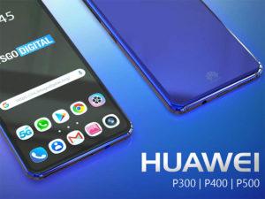 Nové modely telefonu Huawei: P300, P400, P500