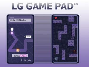 LG Game Pad pro herní telefon na IFA 2019