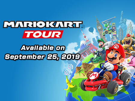 Mario Kart Tour hra
