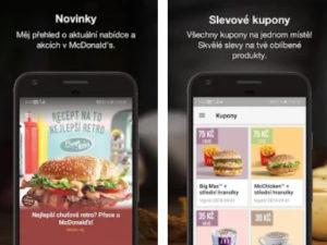 Aplikace McDonald