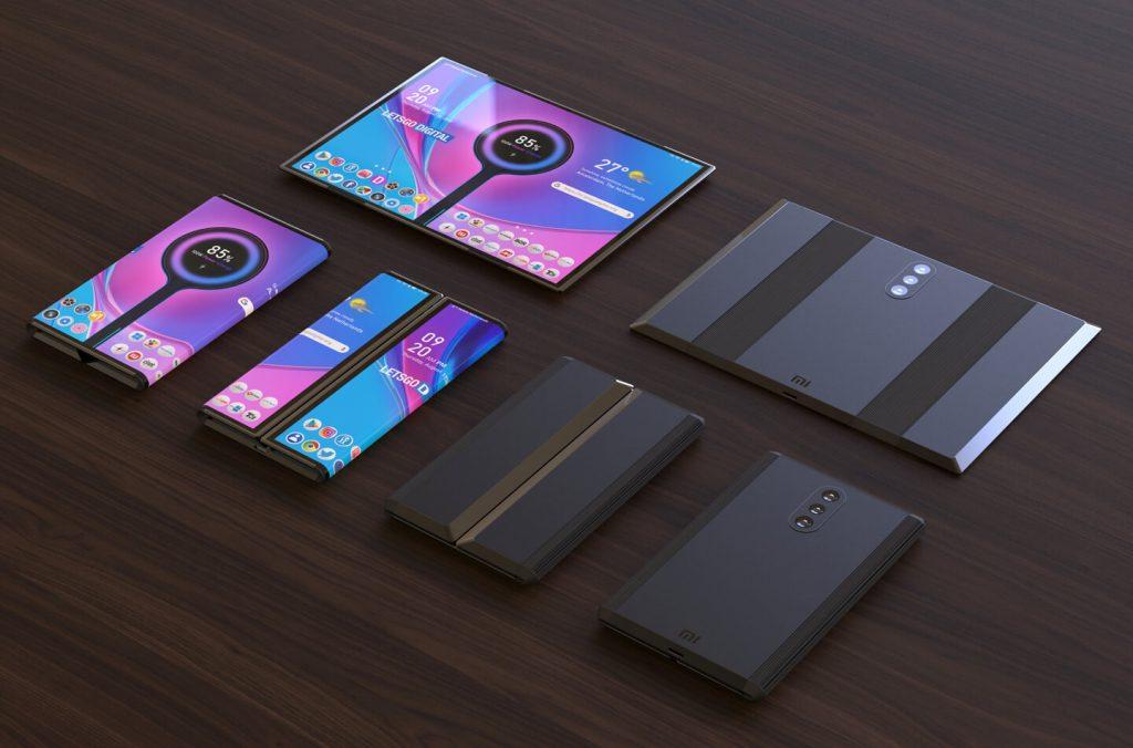 Xiaomi Folding Phone With Three Cameras