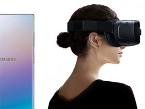 Galaxy Note 10 a VR brýle