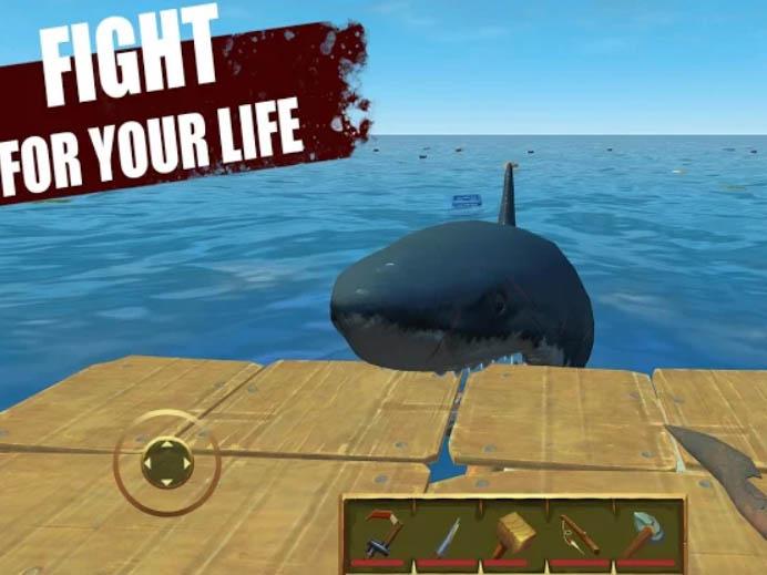 Hra Last Day on Raft: Přežití na Moři