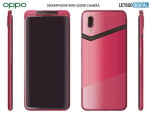 Nový telefon Oppo s posuvnou kamerou