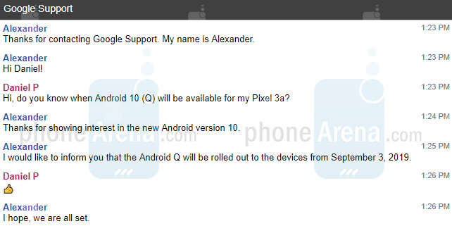 Android 10 na Pixel telefonech