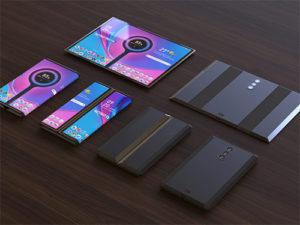 Skládací telefon Xiaomi se třemi kamerami