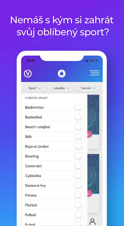 Aplikace  Vyspo