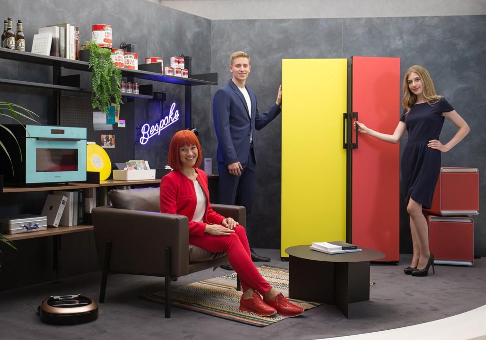BESPOKE moderní životní styl s modulární chladničkou