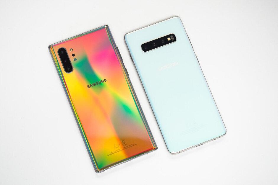 Galaxy S a Galaxy Note