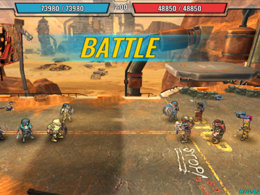 Android hra Shelter wars: Nuclear fallout