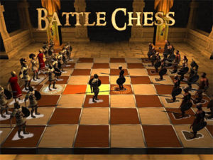 Hra Battle Chess 3D