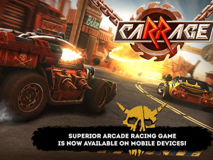 Závodní hra caRRage