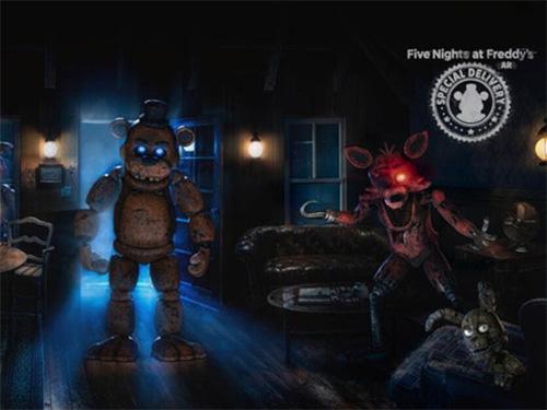 Hra Five Nights at Freddy's AR