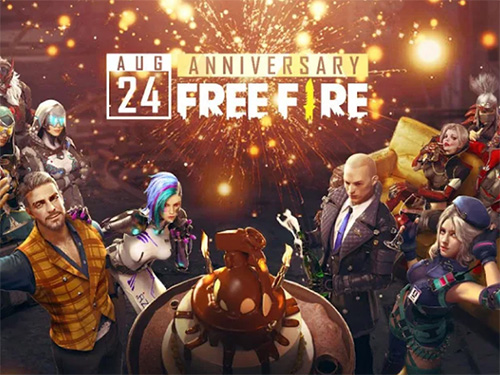 Android hra Garena Free Fire - Anniversary