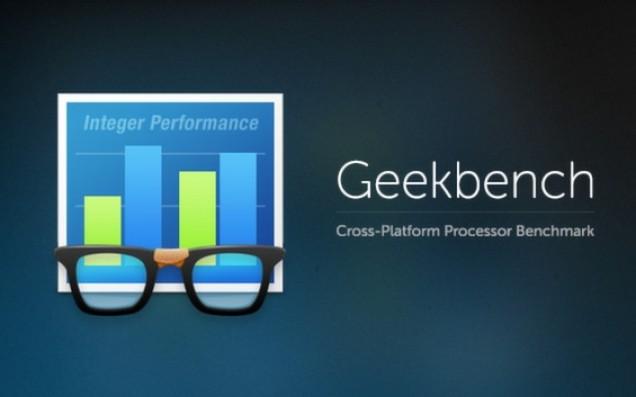 Geekbench test platforma