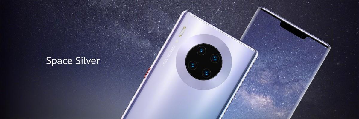 Huawei Mate 30 Pro stříbrná barva